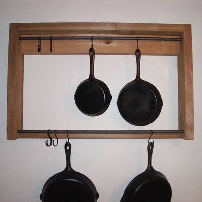 pot rack plans