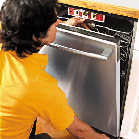 kitchen dishwasher installation