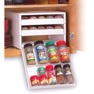 Cupboard Spice Rack