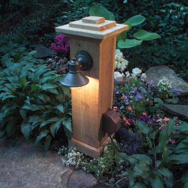 Outdoor Kitchen Receptacle Light