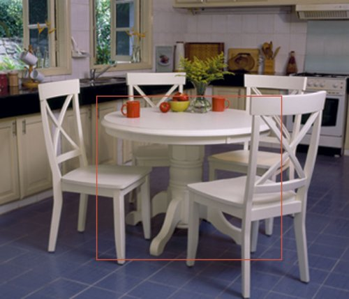Round kitchen table and chairs for limited space