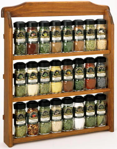 Choosing spice racks for sale