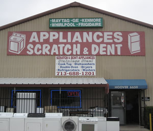 appliances scratch and dent