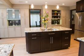 espresso kitchen cabinets