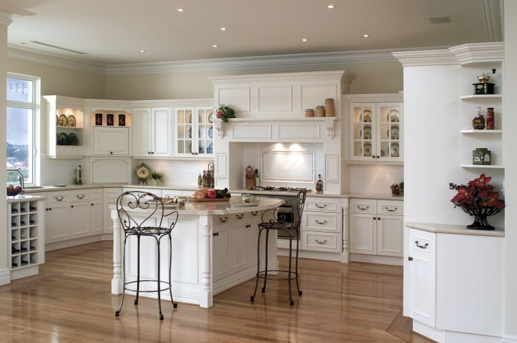 French Provincial Kitchen Designs