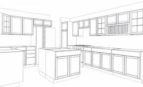 kitchen cabinet dimension