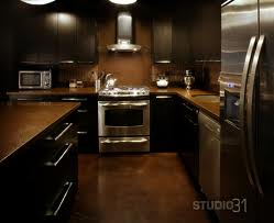 kitchen colors with dark cabinets – Creative Kitchen Cabinet Color Ideas